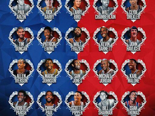 NBA「75大球星」第2波名單出爐!只有1名現役球員 | 蘋果新聞網 | 蘋果日報