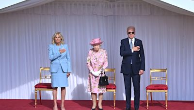 How Joe Biden's visit differed from Donald Trump's tea with the Queen