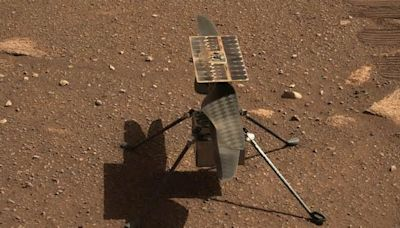 See NASA's Mars Ingenuity helicopter take flight in eye-popping 3D video