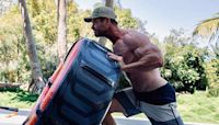 God of Big Arms Chris Hemsworth's full body workout is as old school as Hulk Hogan and as mighty as Thor