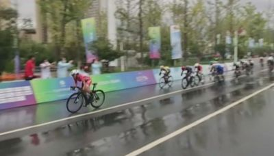 全運會公路單車個人賽 李思穎為港隊奪金