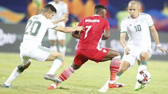 Algeria 2-0 Kenya: Shaky Harambee Stars suffer defeat in Afcon opener