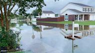 Slidell Neighborhood Floods as Tropical Storm Claudette Brings Heavy Rain to Louisiana
