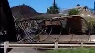 Passerby Captures Aftermath of Collapsed Pedestrian Bridge in Northeast Washington
