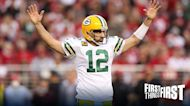 Chris Broussard: Aaron Rodgers is back after Packers' thrilling win over 49ers I FIRST THINGS FIRST