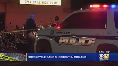 1 Killed, 3 Others Injured In Shootout Between Rival Motorcycle Gangs At Midland Bar