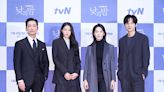 金雪炫李清娥等出席tvN新劇《晝與夜》發佈會