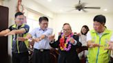 送暖迎重陽 潘孟安訪百歲老議員老鄰長送祝福 | 台灣好新聞 TaiwanHot.net