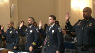 Police officers deliver emotional testimony in first Capitol assault committee hearing
