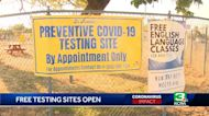 COVID-19 testing sites reopening in Sacramento County