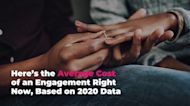 Here's the Average Cost of an Engagement Right Now, Based on 2020 Data
