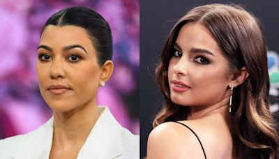 Kim Kardashian says her family suspected Kourtney Kardashian and Addison Rae were 'hooking up' early in their friendship