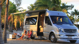 Airstream's Tommy Bahama Coach Makes Mercedes Sprinter into a Beach Machine