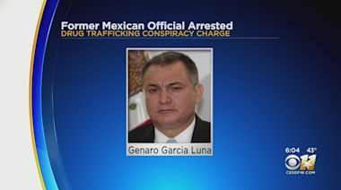 Man Who Ran Mexico's Federal Police Arrested In Dallas