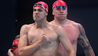 Today at the Olympics: Team GB double up with triathlon and swimming relay golds