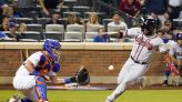 Drury's homer, Conforto's throw lead Mets past Braves 2-1