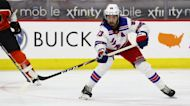 Rangers lose Saturday 2-1 to the Flyers