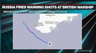 Russia Fires Warning Shots at British Destroyer in Black Sea
