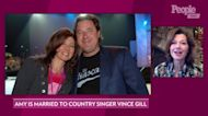 Amy Grant on Performing with Husband Vince Gill: 'I Fall In Love With Him Every Night'