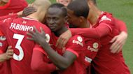 Mane grabs two-goal Liverpool edge v. Palace
