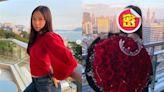 甄子丹17歲愛女素顏曬99朵玫瑰!網暴動喊:好事近了?