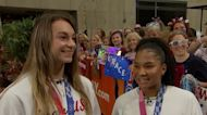 Team U.S.A. gymnasts Grace McCallum and Jordan Chiles on winning silver at Tokyo Olympics