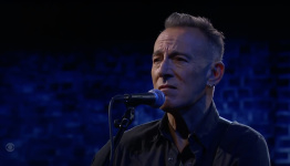 """Bruce Springsteen Performs """"The River"""" and Talks No Nukes on Colbert: Watch"""
