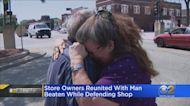 Owner Of Burned Kenosha Mattress Store Reunites Man Who Tried To Save It