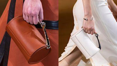2022新款手袋總整理|Hermès必搶圓桶袋、Prada紅色手袋超吸睛、Valentino窩釘包變款