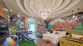 親子遊 台中芭蕾城市渡假旅店把叢林搬進室內 房內就能攀岩、夜宿吉普車上!   蘋果新聞網   蘋果日報
