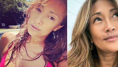 Carrie Ann Inaba's Stunning Swimsuit Instagram Has Celebrities and Fans Going Wild