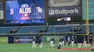 Rays host the Red Sox in game 1