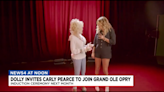 Dolly Parton invites Carly Pearce to join Grand Ole Opry