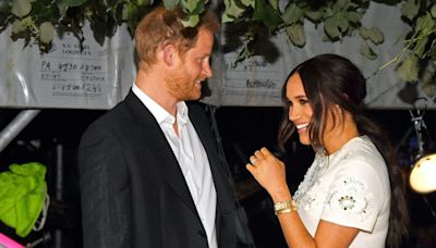 Meghan Markle Wore an Embellished Shift Dress for the Global Citizen Concert
