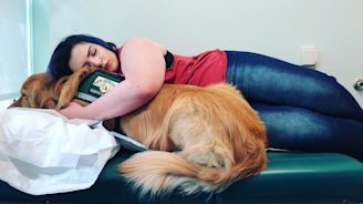 23 Photos That Capture The Bond Between Service Dogs And Their Humans