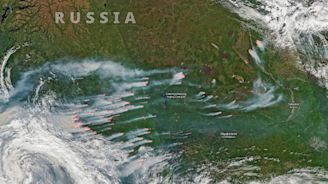 Satellite Images Ignite Alarm Over 'Unprecedented' Scale and Planet-Heating Emissions of Raging Arctic Wildfires