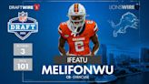 Grade and analysis for the Lions selection CB Ifeatu Melifonwu