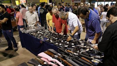 California lawmaker wants to outlaw gun and ammo shows on state property, fairgrounds