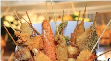 大阪街頭美食「串炸」來台南也吃得到!最便宜只要15元,口感酥脆超美味