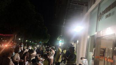 南京嚴管所有小區 快遞外賣被禁入內