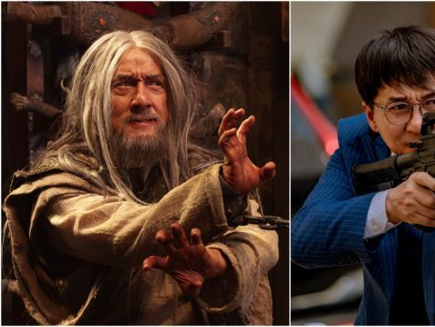 There are two new Jackie Chan movies out today, but only one is dumb and fun