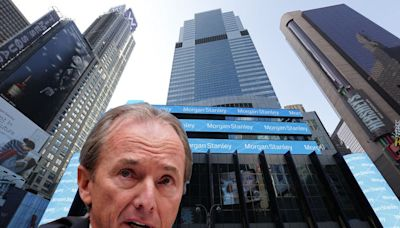 Morgan Stanley boss: 'If you can go to a restaurant, you can come to the office.'