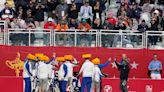 The Latest: Schauffele has no big Ryder Cup memories from TV