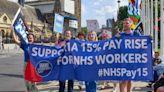 英國醫護上街抗議 薪資停滯多年、為疫情付出後政府只調漲3%--上報