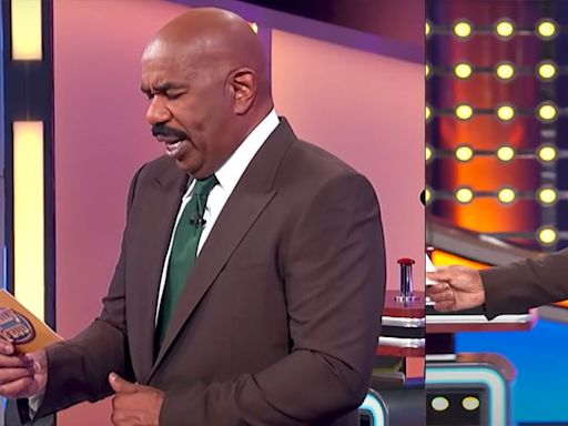 "Steve Harvey Threatens to QUIT 'Family Feud' While Looking for Answers to the ""Grossest"" Question Ever"