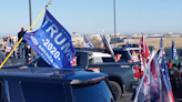 'Trump trains' block highways and bridges from New York to Colorado as 2020 election approaches