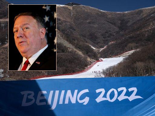 批華行為惡劣 美前國務卿蓬佩奧撐抵制北京冬奧