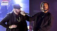 Dr. Dre, Kendrick Lamar, Eminem, Mary J. Blige and Snoop Dogg to Perform at Super Bowl 2022 Halftime Show   Billboard News