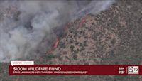 Arizona legislators to vote on $100M wildfire fund