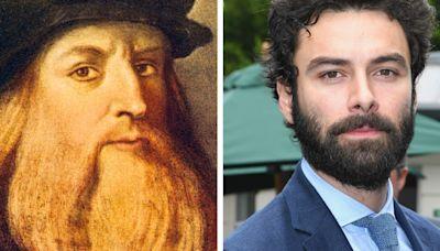 Leonardo da Vinci: Aidan Turner glad artist's sexuality reflected in series